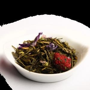 thé vert Violette Framboise