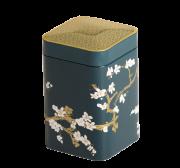 Boîte à the fleurie