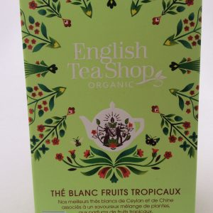 thé blanc fruits en sachets
