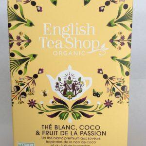 thé blanc coco passion en sachet
