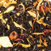 thé noir cerise mûres